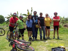 Small bike tours groups